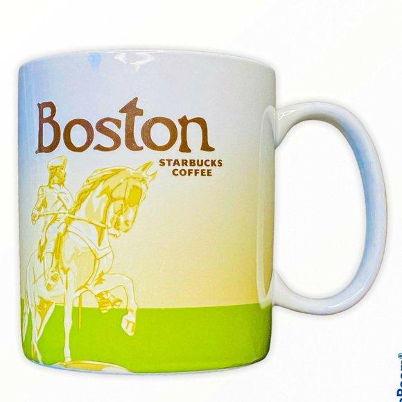 2010 Starbucks Boston Collectors Series 16 oz Mug